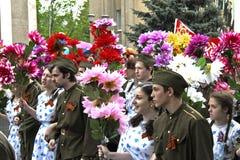 Feier des 70. Jahrestages Victory Days Lizenzfreies Stockbild