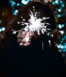 Feier des neuen Jahres stockbild