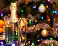 Feier des neuen Jahres Lizenzfreie Stockbilder