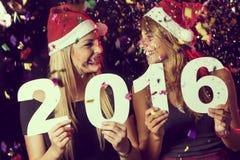 Feier des neuen Jahres Stockfoto