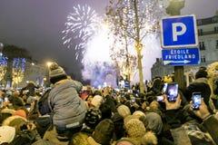 Feier des neuen Jahres Lizenzfreie Stockfotos