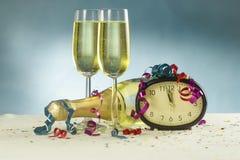 Feier des neuen Jahres Stockfotografie