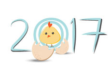 Feier des neuen Jahres des Hintergrundes vektor abbildung