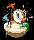 Feier des Tages des neuen Jahres Lizenzfreie Stockfotografie