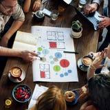 Feier feiern Lob-Partei-Glück-Jahrestags-Konzept Lizenzfreies Stockbild