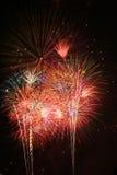 Feier-Feuerwerke lizenzfreie stockfotografie