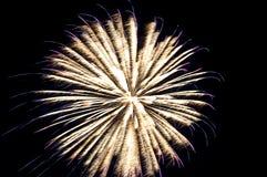 Feier-Feuerwerke Stockbild