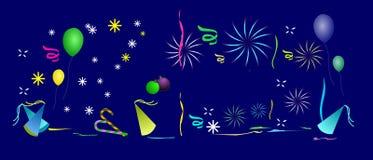 Feier-Hintergrund. Stockbild