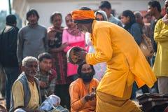 Feier Mahashiva Ratri Stockfoto