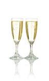 Feier mit Champagner lizenzfreie stockbilder