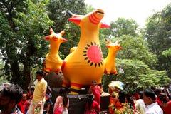 Feier 1422 neuen Jahres Bangladeschs Stockfotografie