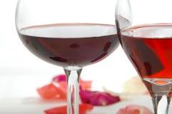 Feier-Wein Stockbild