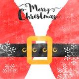 Feierhintergrund der frohen Weihnachten lizenzfreie abbildung
