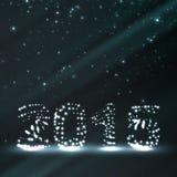 Feierillustration des neuen Jahres Stockfotografie