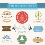 Feierkonzept der frohen Weihnachten stock abbildung