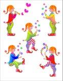 Feierliche Gnomes Stockfoto