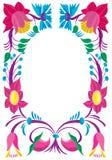 Feierliche Karte. Auslegung einer Blumenverzierung. Lizenzfreie Stockbilder