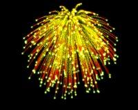 Feierliches Feuerwerk Lizenzfreie Stockfotografie