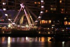 Feiern bei Darling Harbour nachts Stockfotos