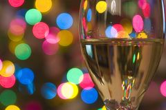 Feiern der Feiertage Lizenzfreies Stockfoto