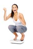 Feiern der Skalafrau Lizenzfreie Stockfotos