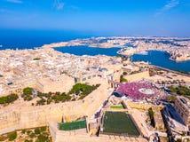Feiern des Arbeitstages in Valletta, Malta lizenzfreie stockbilder