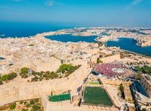 Feiern des Arbeitstages in Valletta, Malta Stockfoto