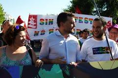 Feiern 32 des homosexuellen Stolzes Lizenzfreie Stockfotos