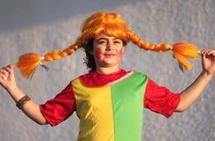 Feiern des jüdischen Feiertags Purim Lizenzfreie Stockfotografie