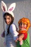 Feiern des jüdischen Feiertags Purim lizenzfreies stockbild