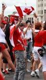 Feiern des Kanada-Tages in Ottawa Lizenzfreies Stockbild