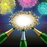 Feiern des Mitteilungszeichens Lizenzfreie Stockfotos