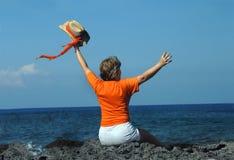 Feiern des Ruhestandes Lizenzfreies Stockfoto