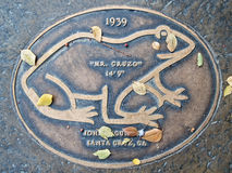 Feiern des springenden Ereignisses des Frosches, 1939 Lizenzfreies Stockbild