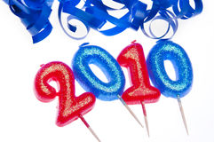 Feiern Sie 2010 Stockbild