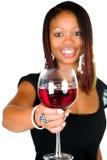 Feiern Sie mit Wein Stockfotografie