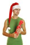 Feiern Sie Weihnachten? Stockbild