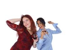 Feiern und Tanzen Stockbilder