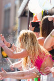 Feiern von Christopher Street Day 2013 in Stuttgart Stockfoto