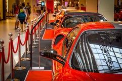Feiern von 25 Jahren von Ferrari in Thailand Lizenzfreies Stockfoto