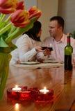 Feiern von Liebe Stockfotos