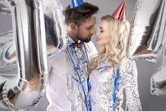 Feiern von neues Jahr ` s Eve Stockbilder