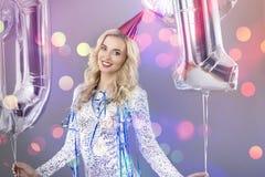 Feiern von neues Jahr ` s Eve Lizenzfreies Stockfoto