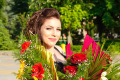 Feiern von Schönheitsblumen Lizenzfreie Stockfotos