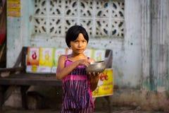 Feiern von Wasser-Festival 2012 auf Myanmar Lizenzfreies Stockbild