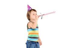 Feiernde Kinder einer Party stockfotos