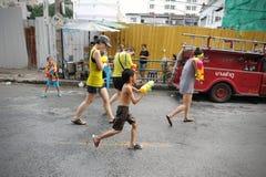 Thailändisches neues Jahr - Songkran Lizenzfreies Stockfoto