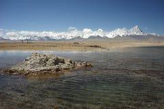 Feiert den falschen nationalen Sumpfgebietpark in Tibet Stockbilder