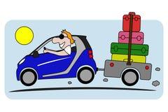 Feiertag auf Auto Lizenzfreie Stockfotos