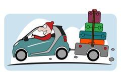 Feiertag auf Auto Lizenzfreies Stockbild
